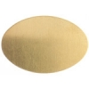 Metal Blank 24ga Brass Oval 20x30mm No Hole